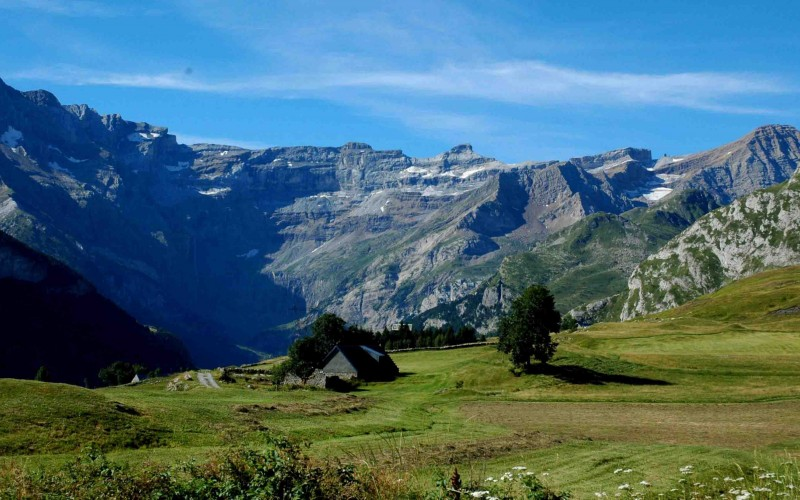 GR10 self-guided from Cauterets to Luchon : Variant through Vignemale and Gavarnie